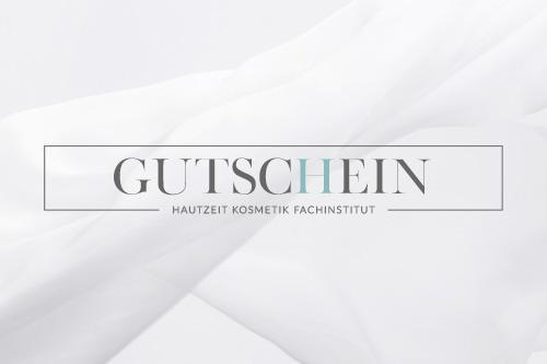 Geschenk Gutschein Hautzeit Kosmetik Fachinstitut